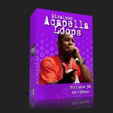 国外干声说唱/Rap Acapella Loop Pack 30 (80-130bpm)_干声说唱包