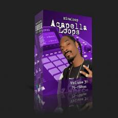 国外干声说唱/Rap Acapella Loop Pack 31 (70-150bpm)_干声说唱